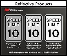 SmartSign 3M Engineer Grade Reflective Sign, \