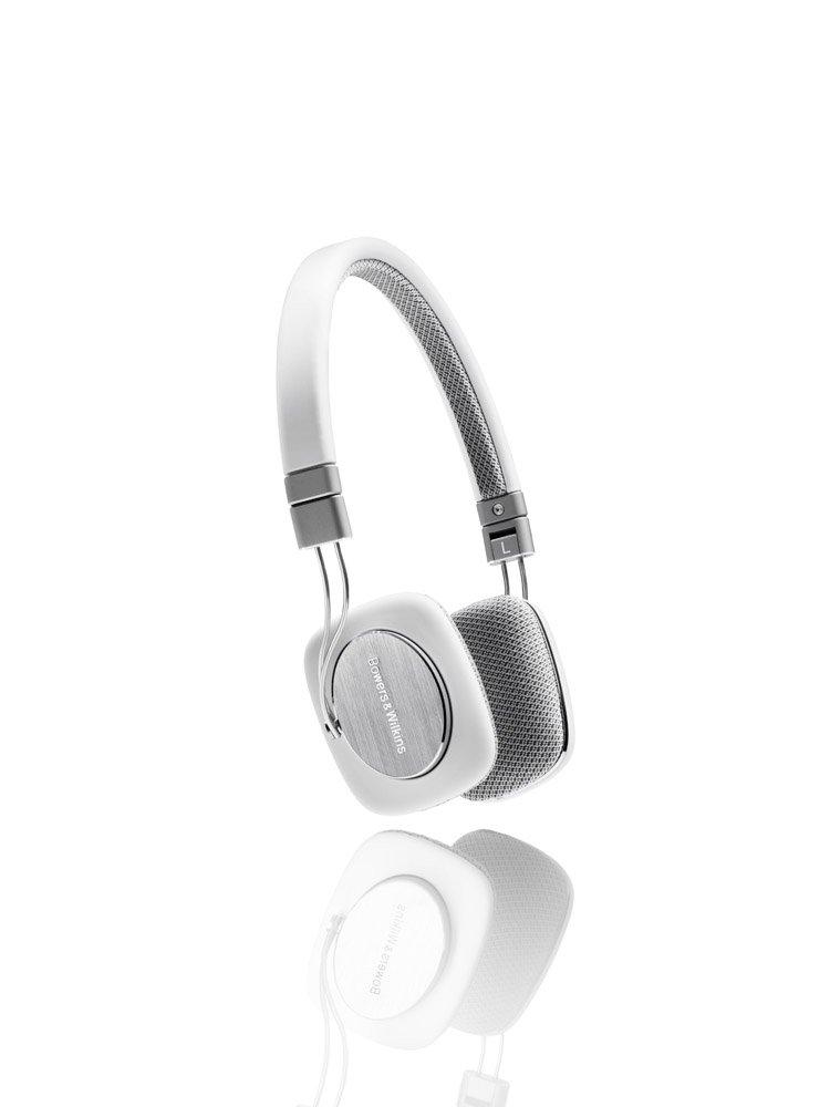 Amazon.com: Bowers & Wilkins P3 Headphones - White/Grey: Electronics