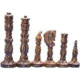 Mugal Design Chess set Historical Medieval Design Chess Set reproduction King 4