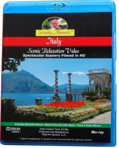 Serenity Moments: Italy Scenic Relaxation [Blu-ray Disc]
