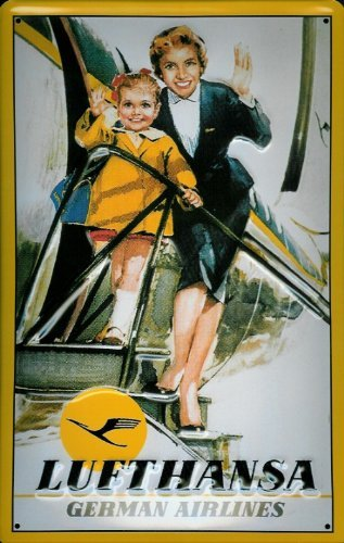 tin-sign-with-retro-lufthansa-plane-german-airlines-stewardess-decorative-sign