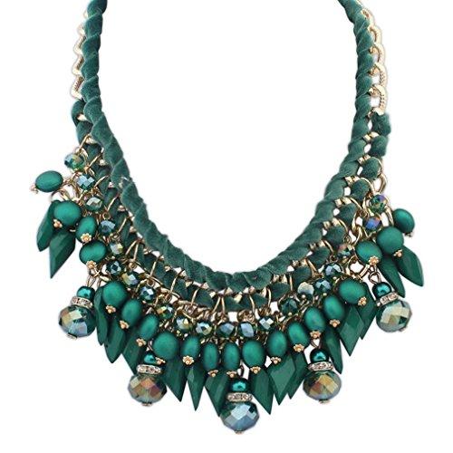 souarts-femme-collier-pendentif-plastron-chaine-de-la-clavicule-multicouche-style-ethnique-vert-60cm
