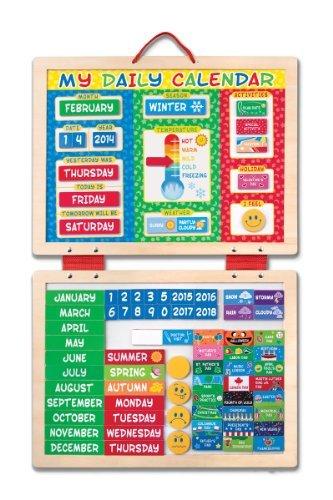 Melissa & Doug My First Daily Magnetic Calendar Newborn, Kid, Child, Childern, Infant, Baby