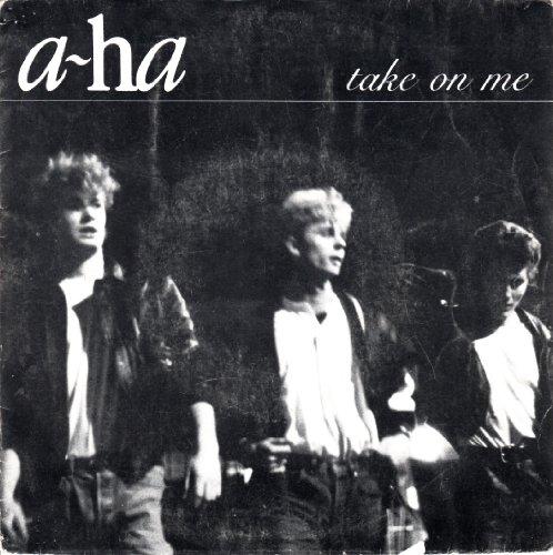 a-ha / take on me / 1985 / Bildhülle / WB # 929006-7 / Französische Pressung / 7