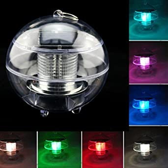 Colour changing led pond lights