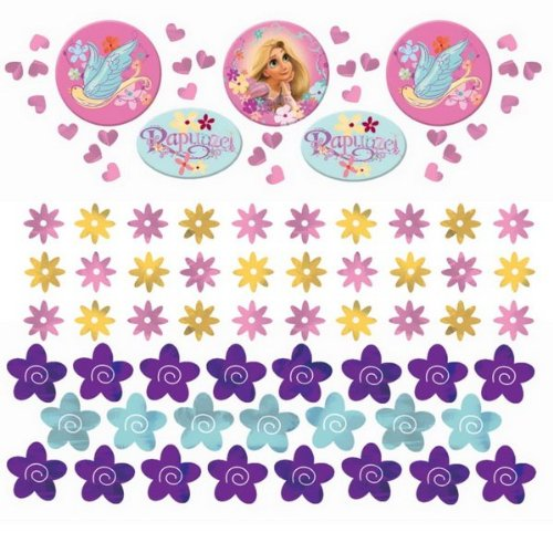 Disney Tangled Value Confetti (Multi-colored) Party Accessory