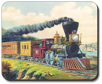 Currier & Ives: Express Train - Mouse Pad