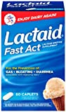 Lactaid Fast Act Lactase Enzyme Supplement, 60 Count