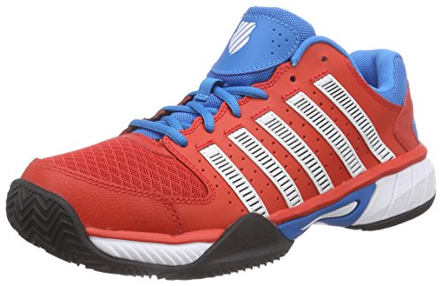 K-Swiss PerformanceEXPRESS HB - Scarpe da Tennis Uomo , Rosso (Rot (FIERYRED/METHYLBLUE/WHITE)), 42 eu