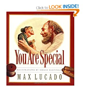 """You are Special"" by Max Lucado :Book Review"