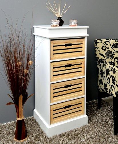 landhaus stil kommode bad flur k chen regal schrank wei. Black Bedroom Furniture Sets. Home Design Ideas