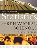 img - for Introductory Statistics for the Behavioral Sciences, Sixth Edition with SPSS 15.0 Set book / textbook / text book
