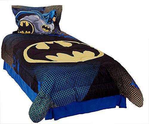 batman twin comforter set home garden linens bedding bedding comforters sets. Black Bedroom Furniture Sets. Home Design Ideas