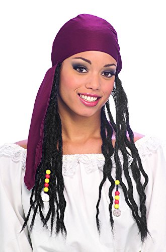 Rubie's Costume Pirate Headband with Dreads (Jack Sparrow Wig compare prices)