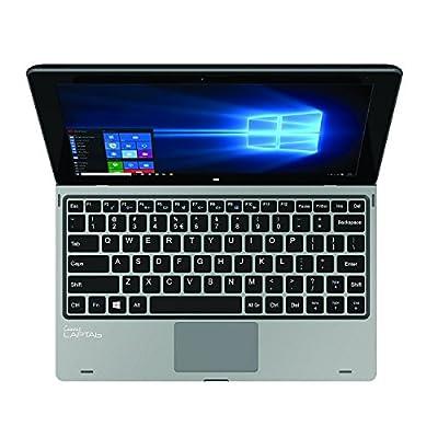 Micromax Canvas Laptab LT666W 10 1-inch Touchscreen Laptop (Intel Atom  Z3735F/2GB/32GB/Windows 10/Integrated Graphics