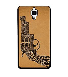 PRINTSWAG REVOLVER Designer Back Cover Case for XIAOMI MI4
