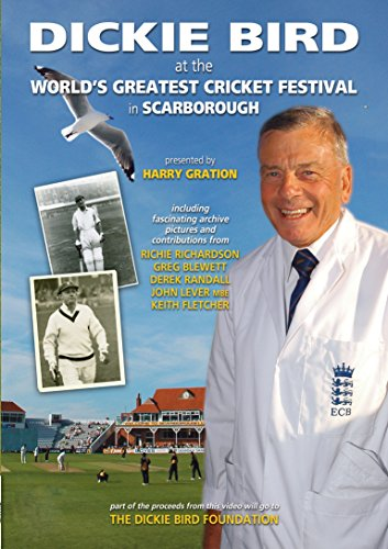 Dickie Bird At The World's Greatest Festival In Scarborough