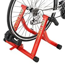 NEW Red Bicycle RAD Gonzo Trainer Smooth Magnetic Resistance w Riser Block