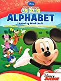 Mickey Mouse Clubhouse Workbook and Flashcard Learning Bundle (Set of 2) includes (1) Alphabet Learning Workbook + (1) Numbers and Counting Learning Workbook