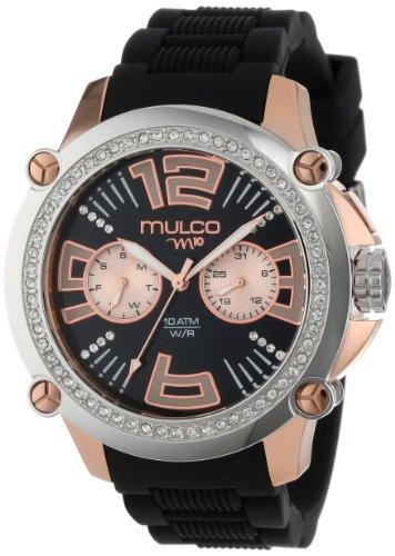 Mulco Women'S Mw2-28050S-025 Analog Chronograph Swiss Watch