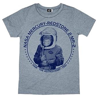 Amazon.com: Hank Player 'NASA Ham The Astrochimp' Boy's T-Shirt