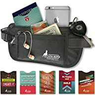 Money Belt For Travel with 1x Passpor…