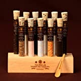 Gourmet Sea Salt Tasting Sampler No. 2 - A Collection of 11 Salts - Explore the World of Salt