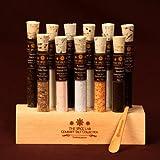Gourmet Sea Salt Sampler No. 2 - A collection of 11 Finishing Salts