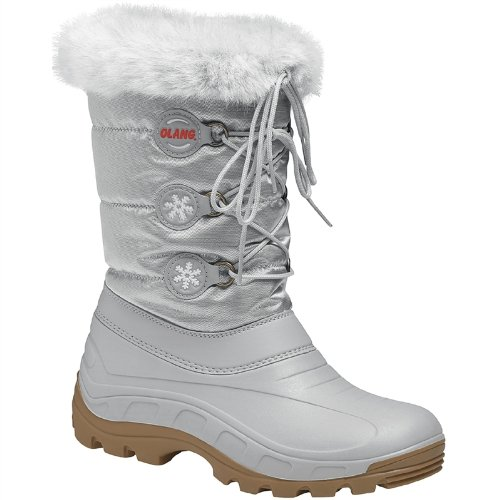 Olang Patty Snow Boots (Silver, EU 39-40)