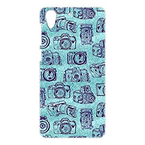 a AND b Designer Printed Mobile Back Cover / Back Case For HTC Desire 728 (HTC_728_3D_2340)