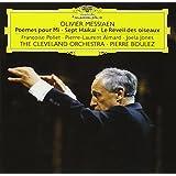 Boulez performs Messiaen: Poèmes pour Mi, Sept Haikai, etc.