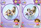 "Dora the Explorer & Boots the Monkey Swimming Pool 20"" Swim Ring & Armbands"