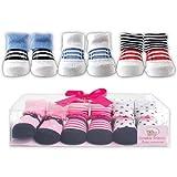 Luvable Friends 3-Piece Little Shoe Socks Gift Set