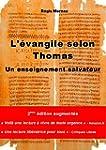 L'Evangile selon Thomas: Un enseignem...