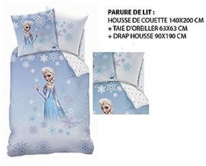 parure de lit 3pcs cti 040857 housse de couette 140 x. Black Bedroom Furniture Sets. Home Design Ideas