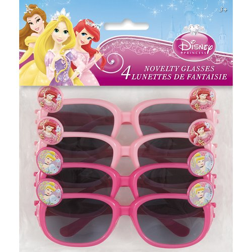 Disney Princess Novelty Glasses, 4ct