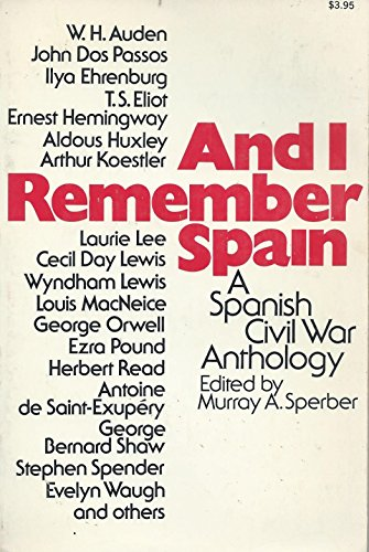 And I Remember Spain