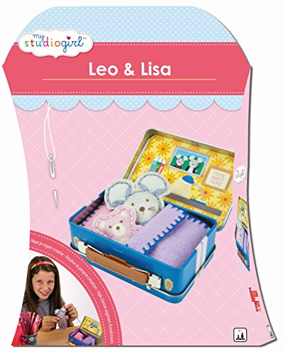 university-games-82234-kit-de-loisirs-creatifs-my-studio-girl-leo-lisa