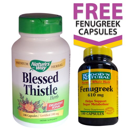 Nature's Way Blessed Thistle (390mg) 100 Capsules