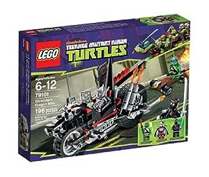 Lego Teenage Mutant Ninja Turtles - 79101 - Jeu de Construction - La Moto Dragon de Shredder