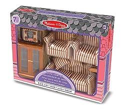 Melissa & Doug - Living Room Dollhouse Furniture by Melissa & Doug