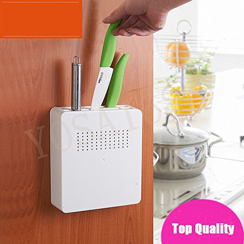 Yosa Kitchen Knife Holder Plastic Storage Rack Holder Shelf Multifunction Stand For Knives