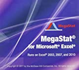 img - for MegaStat for Excel book / textbook / text book