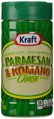 Kraft Grated Parmesan/Romano, 8 oz (Kraft Grated Romano Cheese compare prices)