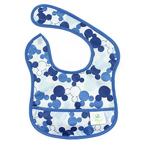 Bumkins Disney Baby Waterproof Starter Bib, Mickey Mouse Icon (4-9 Months) (Disney Baby Food compare prices)