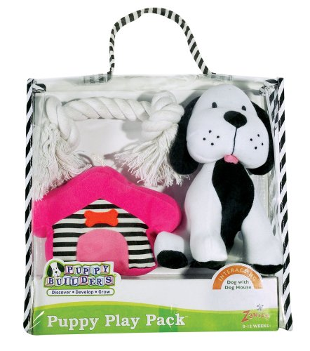 Puppy Play Packs – Dog with Doghouse Puppy Gift