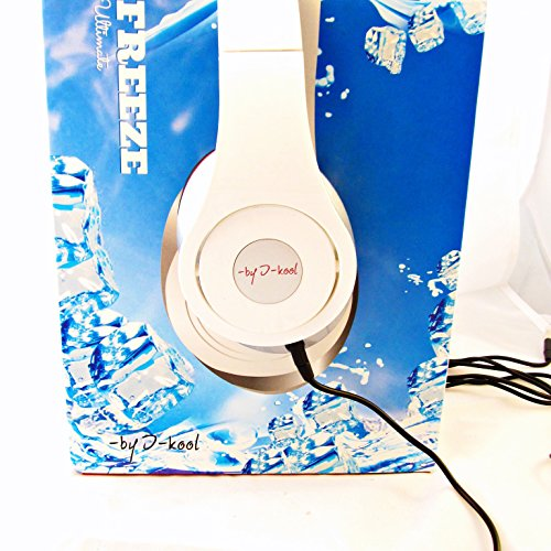 Freeze Ultimate I-Kool Freeze Series Headphone With Extra Bass Enhancement (White)