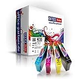 Epson XL compatible (T1636) T1631-34 multiPack of 10 high quality Ink Cartridges for Epson WorkForce WF2010 W / WF2510 WF / WF2520 NF / WF2530 WF / WF2540 WF