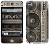 "GelaSkins Protective Skin for iPod Touch 4G with Access to Matching Digital Wallpaper Downloads - ""Boombox"""