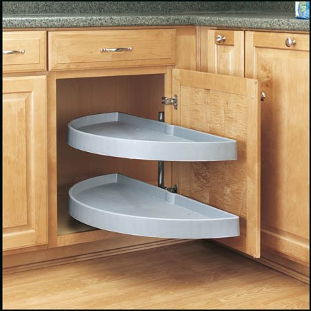 Half Moon Shelves, White